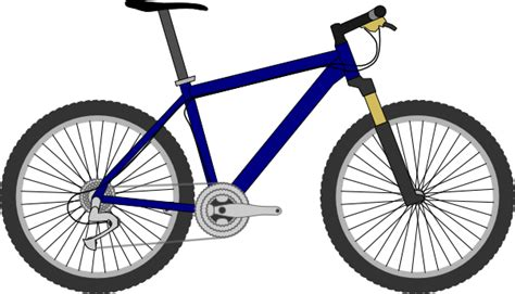 Mountain Bike Clipart mountain bike clip at clker vector clip royalty free domain