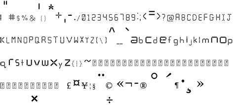 calculator font calculator free font in ttf format for free download 10 15kb