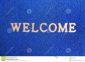 Dirty Dog Doormat Blue Carpet Welcome Mat Stock Images Image 25869934