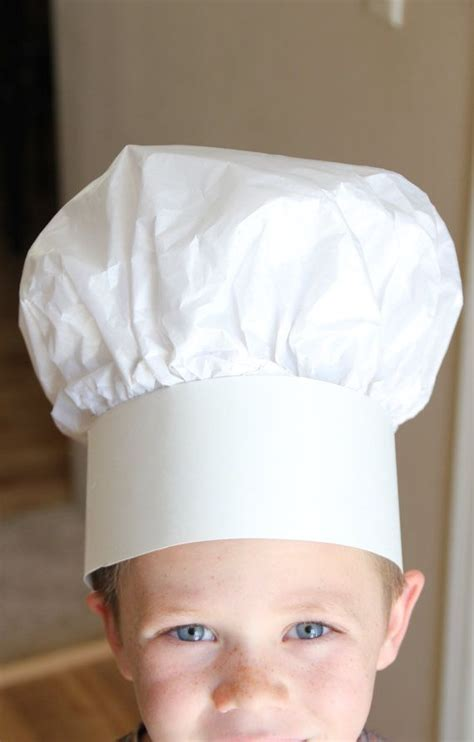 How To Make A Toque With Paper - best 25 paper chef hats ideas on
