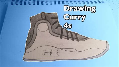Curry 4 Sketches by How To Draw Curry 4s