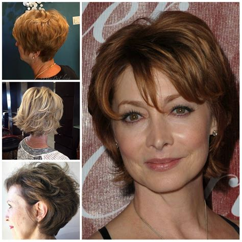 2017 Hairstyles For 50 With Hair by Hairstyles For 50 Haircuts Hairstyles