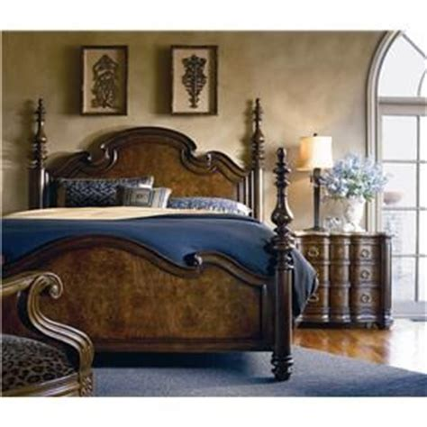 thomasville furniture hills of tuscany king lucca bedroom poster beds tuscany and lucca on pinterest