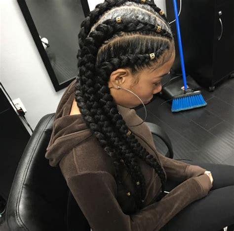 jumbo corn braids hairstyles jumbo cornrow braids are a thing check out 12 women