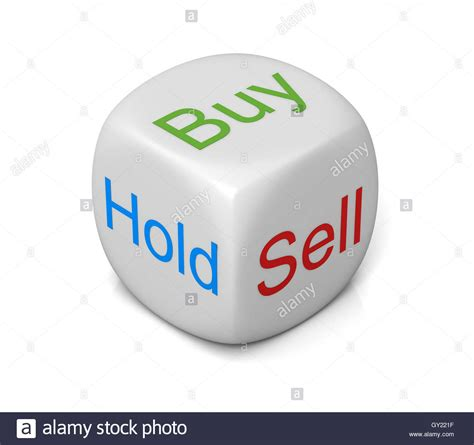 buy images buy sell hold cube concept 3d illustration stock photo