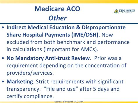 Importance Of Md Mba by Berkowitz Accountable Care Organization Quot Aco