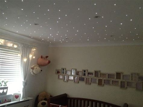 Nursery Fibre Optic Star Twinkle Lights Remote Control Baby Room Ceiling Light