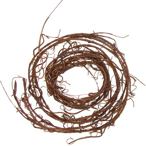 6 faux twig wired garland pf149604 craftoutlet com