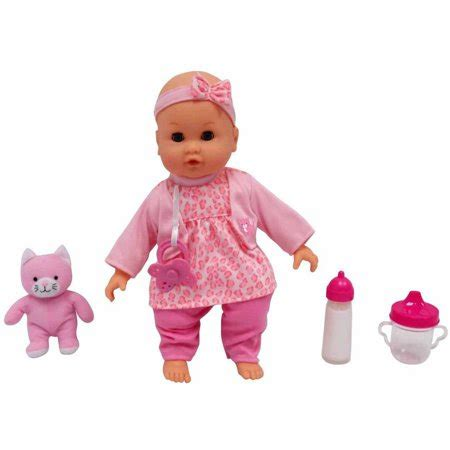 all baby dolls at walmart msl 14 quot baby maggie doll cat item may vary walmart