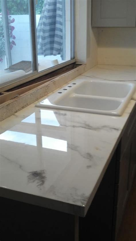 Faux Marble Laminate Countertops by Faux Marble Countertop Granicrete 480painting