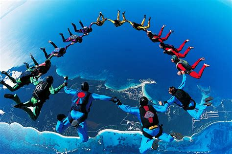 best place to skydive best places to skydive in the world the travelers zone
