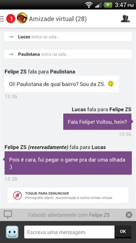 chat de bate papo do bate papo uol para android
