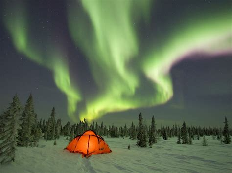 an amazing look at the northern lights starts with a bang