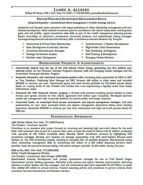 asset management resume sle 28 asset management resume sle enernovva org