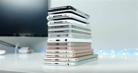 alle iphone modellen op een rijtje  nieuwe