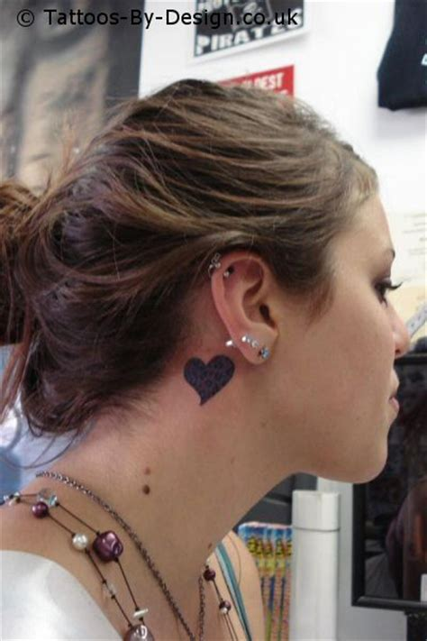heartbeat tattoo behind ear 301 moved permanently