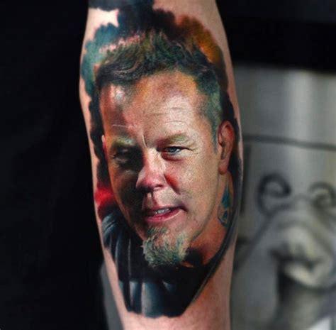 James Hetfield Tattoo Portraits | Tattoo Life James Hetfield Tattoos 2017