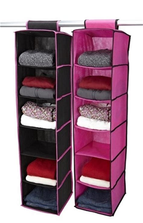 sweater closet organizer black fuschia 6 shelf sweater organizer