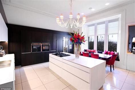 Marble Top Kitchen Island by Inside Michelle Mone S 163 1m Luxury House That Is On The
