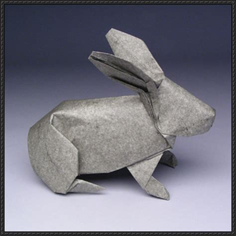 Origami Of Rabbit - papercraftsquare new paper craft origami rabbit ver