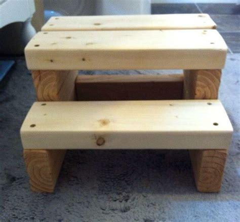 kids step stool for bathroom wood step stool 8 5 quot tall wood steps kids step stools