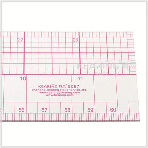 pattern grading ruler kearing 2 24 60cm flexible plastic pattern grading