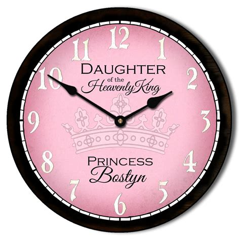 Jam Dinding Standard White wall clock pink clock the big clock store