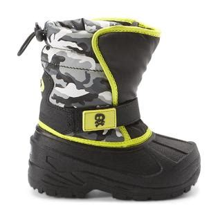boys camo winter boot sturdy style for winter at kmart