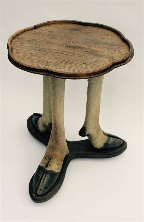 Deer Table Deer Legs Side Table Austria Circa 1900 At 1stdibs