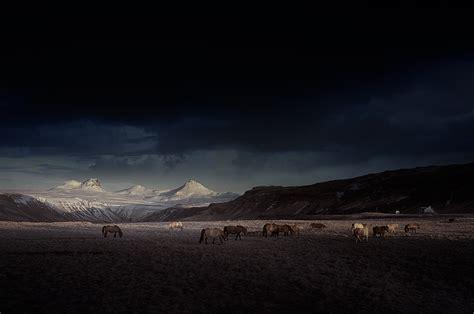 D Island 11 blue iceland paysages d islande avec lentille infrarouge