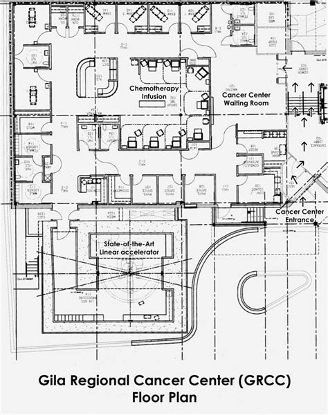 medical center floor plan gila regional cancer center gila regional medical center