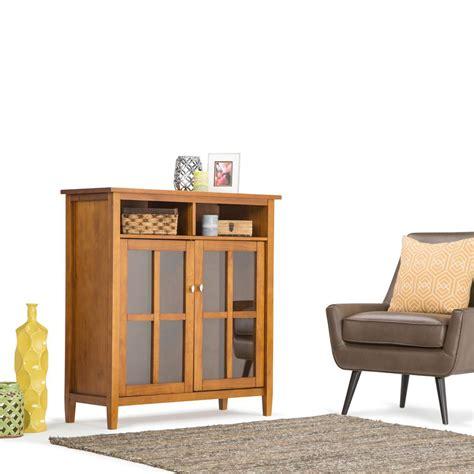 simpli home artisan medium storage cabinet upc 840469007086 simpli home warm shaker storage