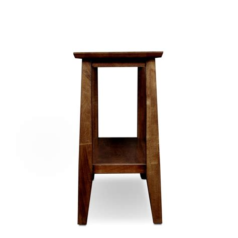 narrow accent table amazon com leick delton narrow chair side end table