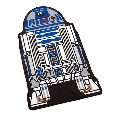 r2 d2 rug wars r2 d2 cutout rug thinkgeek