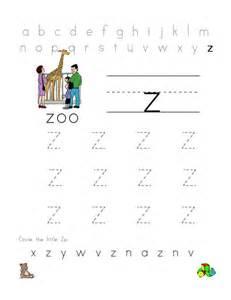 letter z worksheets kiddo shelter