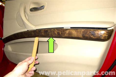 How To Replace Car Door Handle Interior by Bmw E90 Door Panel Removal E91 E92 E93 Pelican Parts