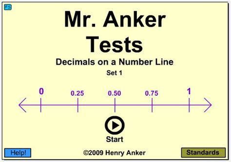 exle of whole numbers number line decimals