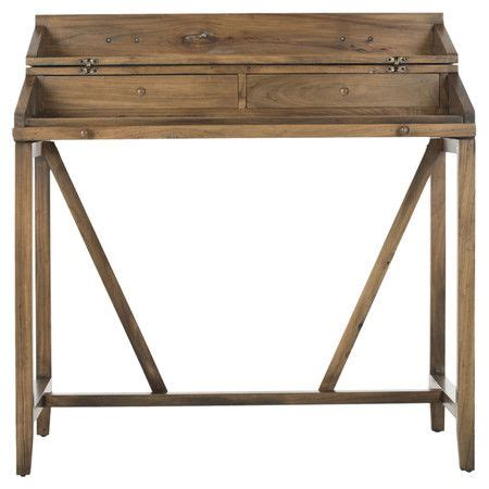 desk with pull out writing surface pine wood desk with 2 drawers and a pull out writing