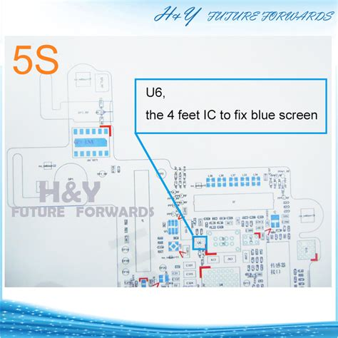 Iphone 5s 6 Ic Bluescreen U6 0838 free shipping u6 the 4 ic to fix blue screen for iphone 5s ic chip buy for iphone 5s