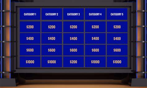 Jeopardy Presentation Prezi Template Prezibase Jepardy Maker