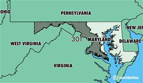 code md where is area code 301 map of area code 301 silver
