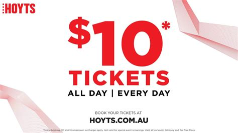 s day hoyts 10 tickets at hoyts adelaide adelaide
