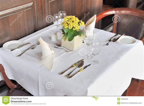restaurant table for two stock image image of dinner