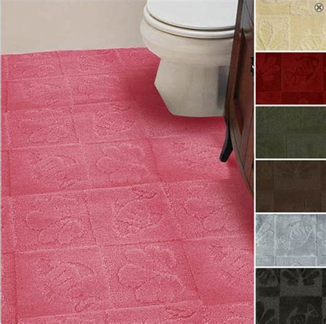 carpeted bathrooms 5 places to buy machine washable cut to fit plush carpet