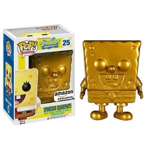 Funko Pop Spongebob Squidward spongebob squarepants gold pop vinyl pop television