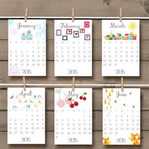 Doodle Calendario Printable 2015 Calendar Doodle Wall Calendar Desk Calendar