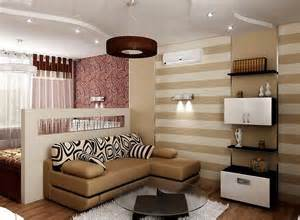 illumination and color bedroom living room combo ideas interiordecodir