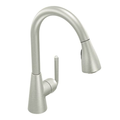 moen one touch kitchen faucet moen s71708csl ascent one handle high arc pulldown kitchen