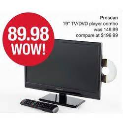 target black friday deals on smart tvs with dvd player proscan 19 quot tv dvd player combo at stein mart black friday