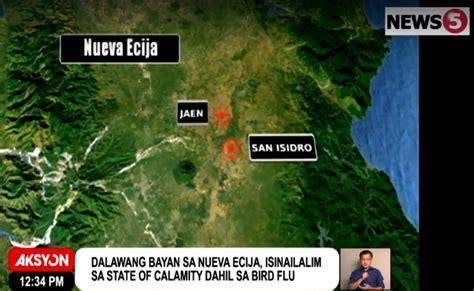 san jose city nueva ecija map bird flu situation state of calamity declared in